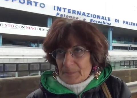 Palermo, senza casa delusa torna a vivere all'aeroporto