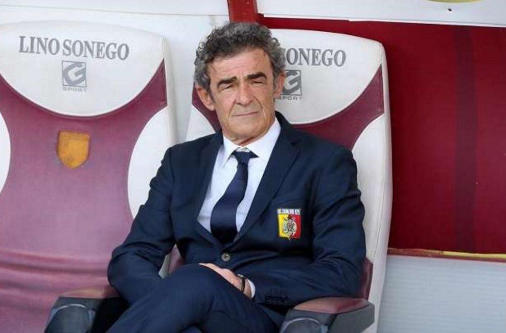 """Bari - Catania domani sera a porta chiuse, Auteri: """"Dobbiamo stare attenti"""""""