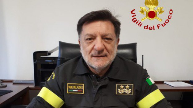 Palermo, Gaetano Vallefuoco direttore regionale dei pompieri