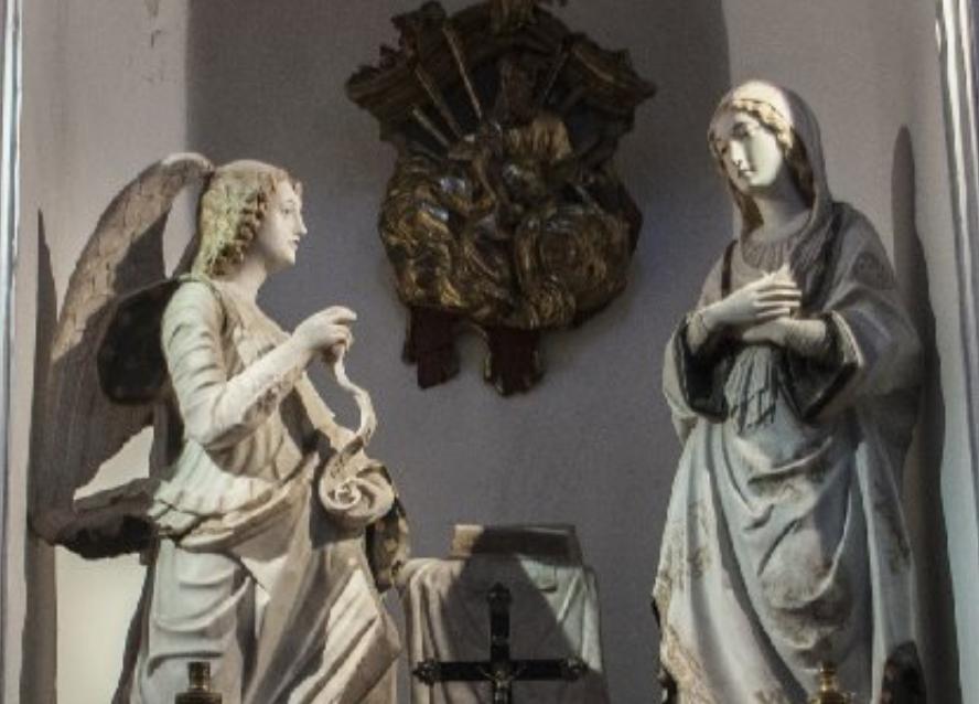 Modica, chiesa del Carmine: al via il restauro dell'Annunciazione del Gagini