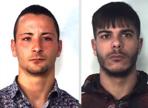 Catania, evadono dai domiciliari: finiscono in cella a piazza Lanza