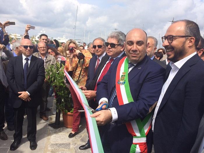 #avanti Giancarlo, il sottosegretario Faraone al fianco del sindaco di Siracusa dopo l'attentato