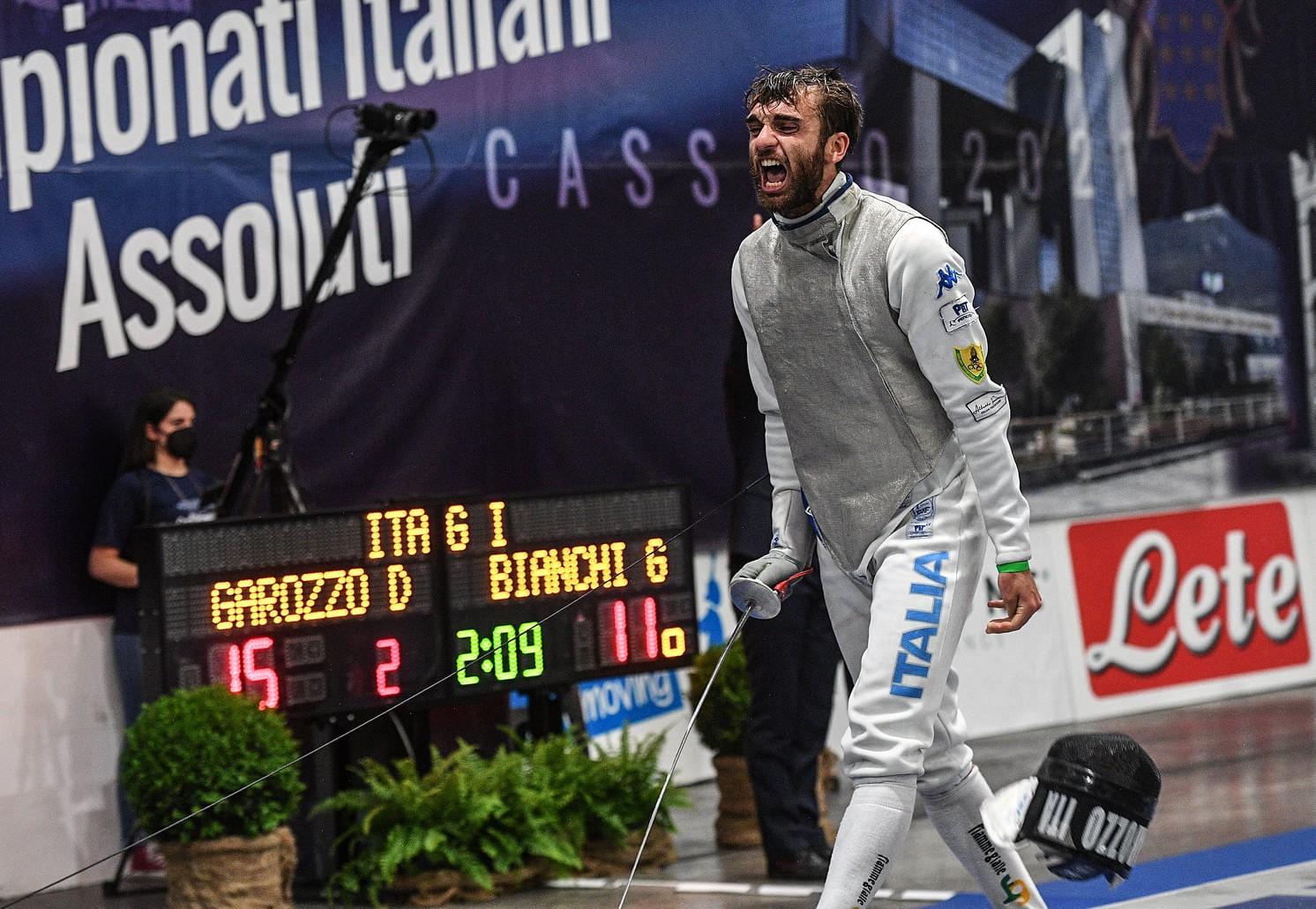 """L'olimpionico Daniele Garozzo si  racconta: """"Mi piaceva Zorro, così è nato l'amore per la scherma"""""""