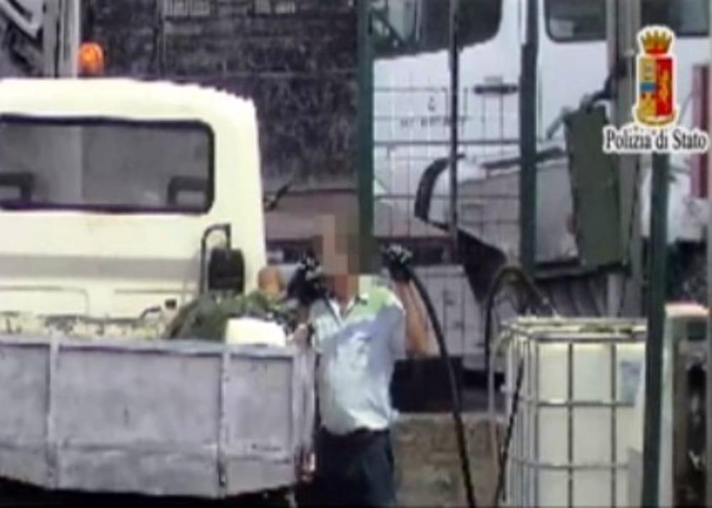 Coppia sorpresa a rubare gasolio a Misilmeri: obbligo di firma