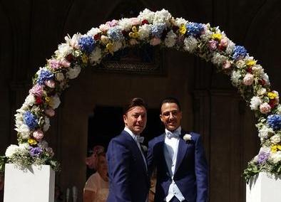 Celebrato matrimonio gay nella chiesa Valdese di Palermo