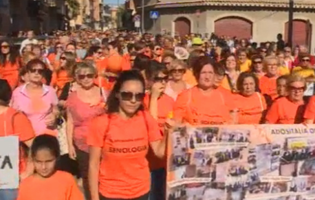 Duemila in piazza a Gela per l'apertura del reparto di Senologia