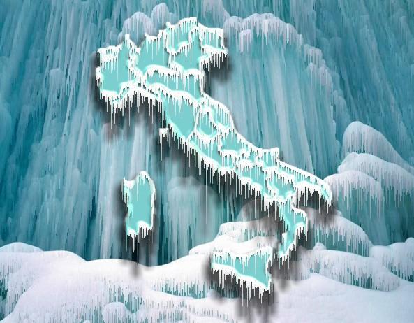 Arriva il gran freddo in Italia, tregua all'Epifania
