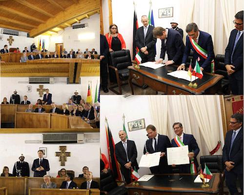Gemellaggio, una delegazione tedesca in visita a Rosolini