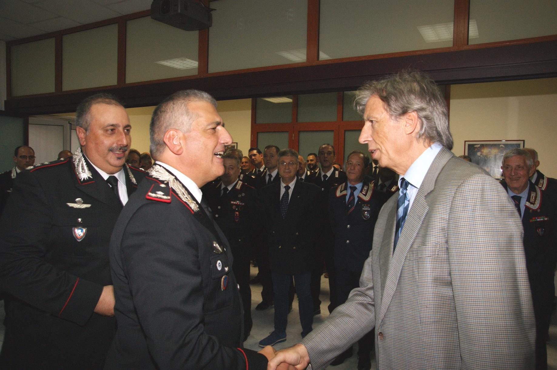 """Il comandante della Legione Carabinieri """"Sicilia"""" a Siracusa"""