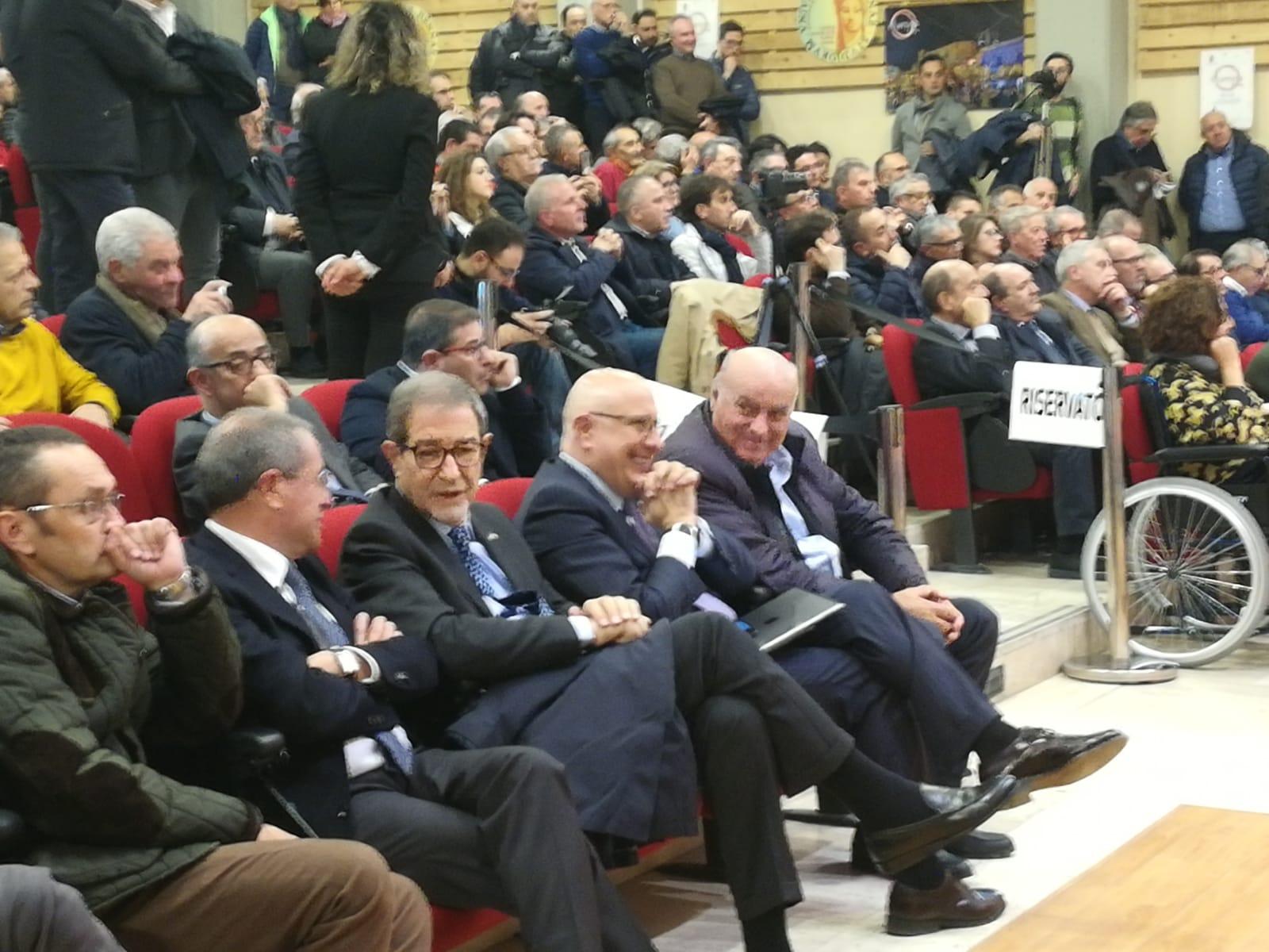 L'Mpa si raduna  a Enna, il Movimento  verso Fratelli d'Italia? (GURDA LE FOTO)