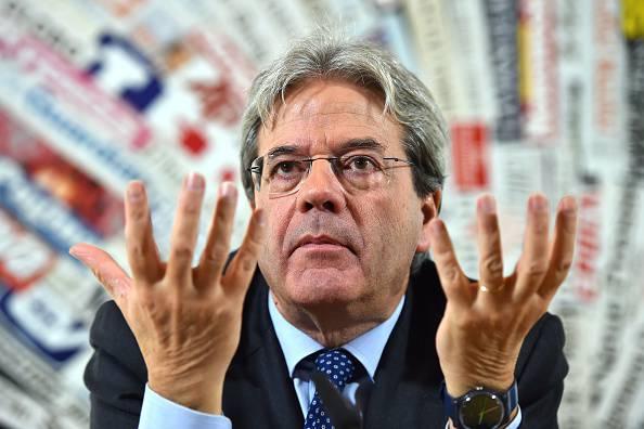 Il presidente del Consiglio Gentiloni sabato in visita a Catania
