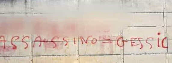 "Scritte sui muri di Favara sulla donna scomparsa, ""è lui l'omicida"""