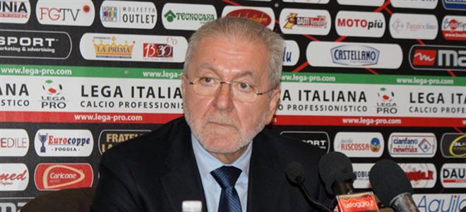 Calcio, il presidente della Lega Pro domani a Lentini: riceverà una targa celebrativa