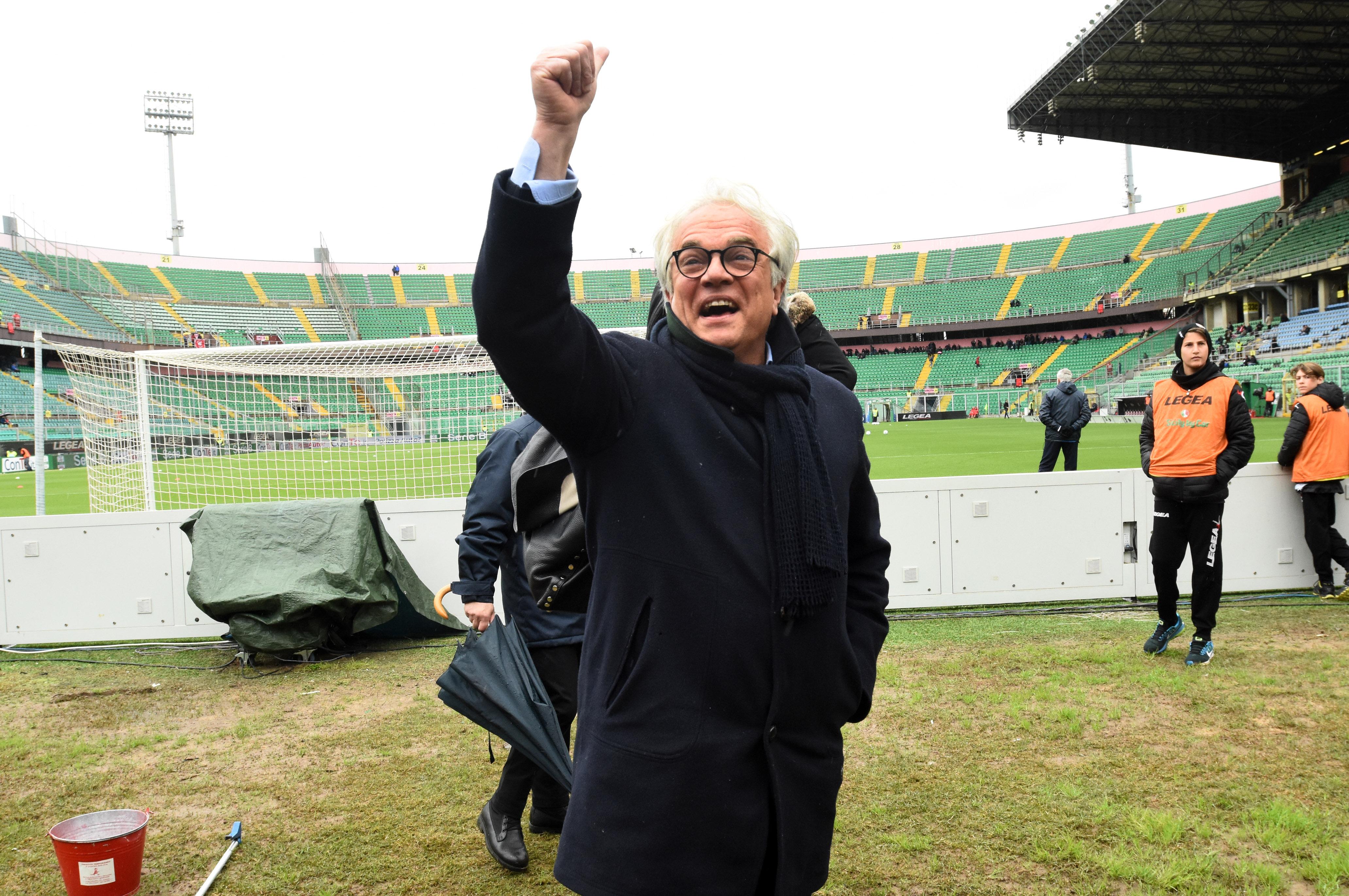 Il vecchio Palermo, condannato a 8 mesi l'ex presidente Giovanni Giammarva