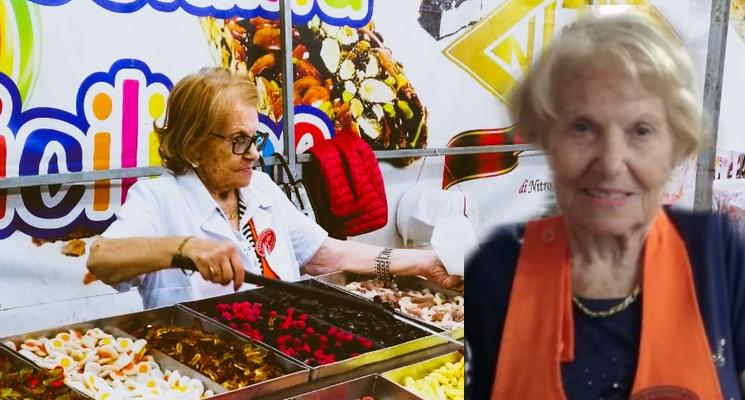 """Caltanissetta, addio a Giannina """"La Signora bionda del torrone"""" regina delle feste e delle sagre"""