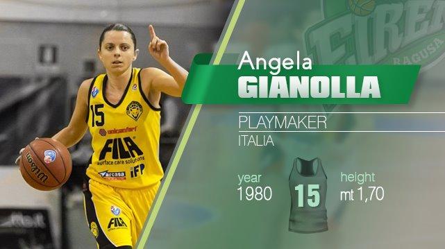 Basket, A1 femminile: alla Passalacqua Ragusa arriva Angela Gianolla