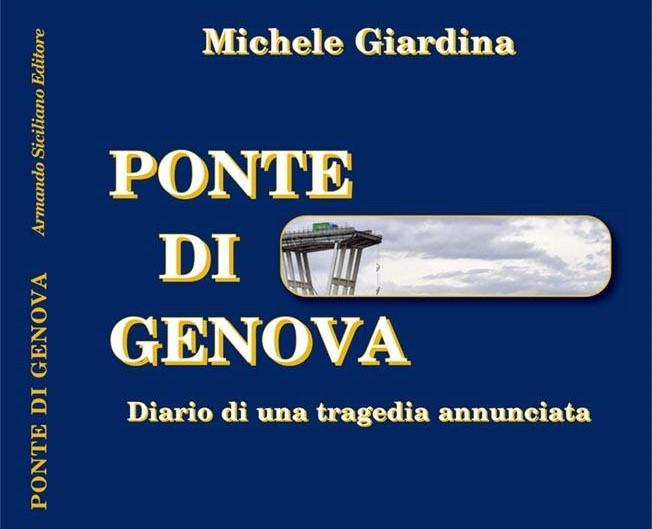 """Pozzallo, si presenta il libro di Michele Giardina """"Ponte di Genova"""""""