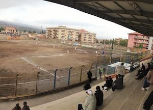 Festa per gli sportivi di Giarre, stadio riaperto dopo 3 anni di inagibilità