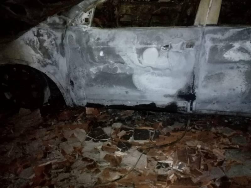 Incendiata auto sindaco di Gibellina: era parcheggiata nel cortile di casa