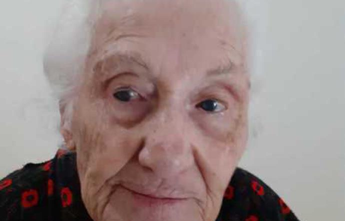 Nonna Giorgia di Modica con i suoi 100 anni guarita dal coronavirus