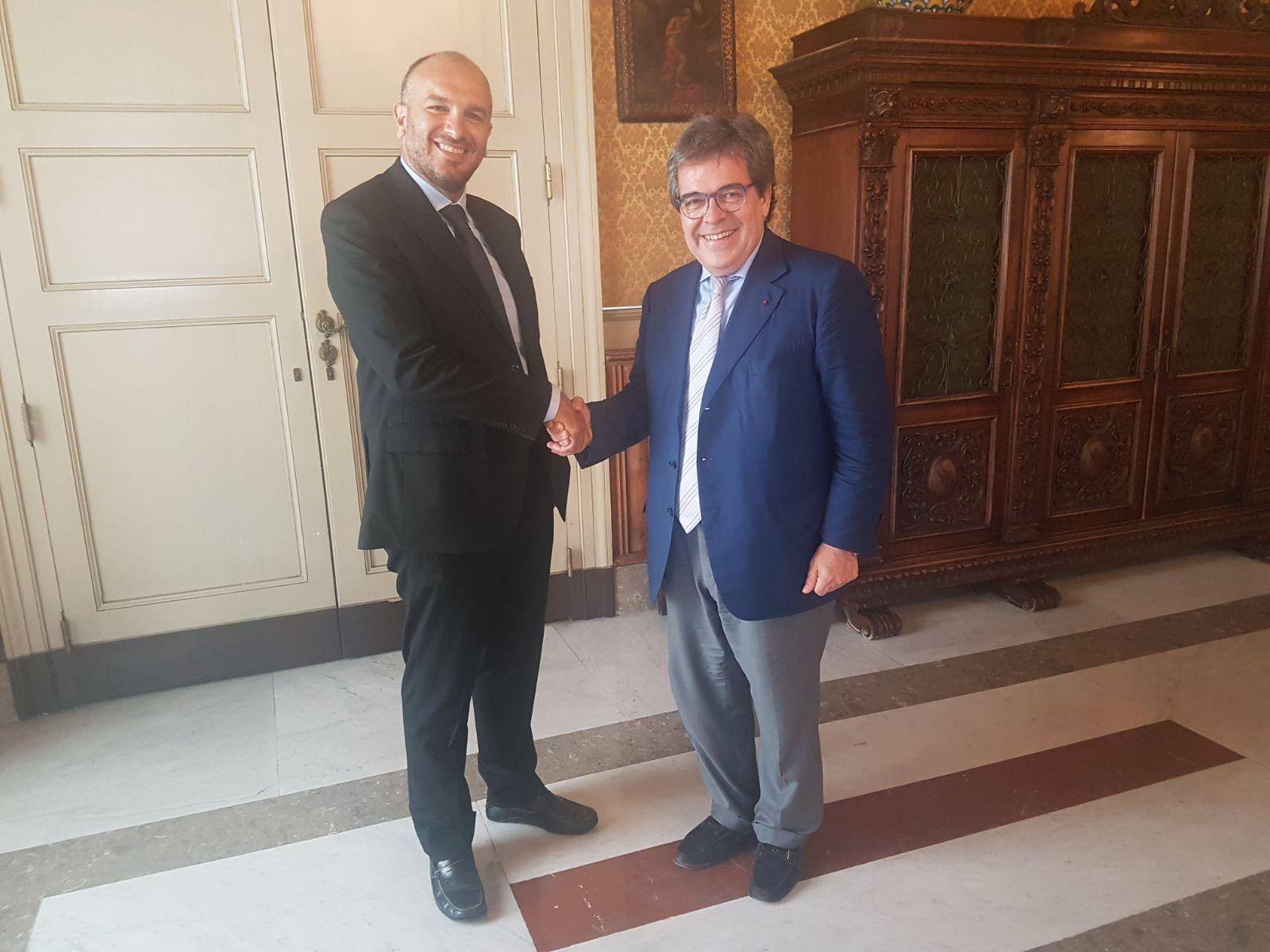 Giorgianni assessore ai Lavori pubblici al Comune di Catania