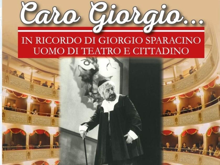 Modica: al Teatro Garibaldi l'omaggio a Giorgio Sparacino, uomo di teatro e cittadino