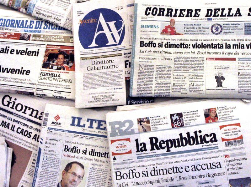 Assostampa denuncia la diffusione di copie 'pirata' dei giornali: danno a imprese e lavoratori