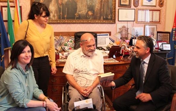 I luoghi dell'accessibilità, a Modica il giornalista tedesco Nobert Kreiter