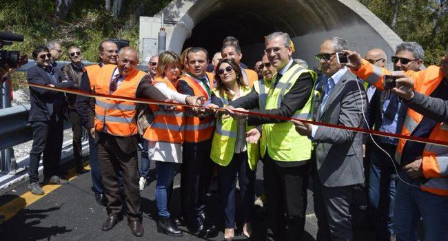 Autostrade, inaugurato svincolo di Giostra a Messina