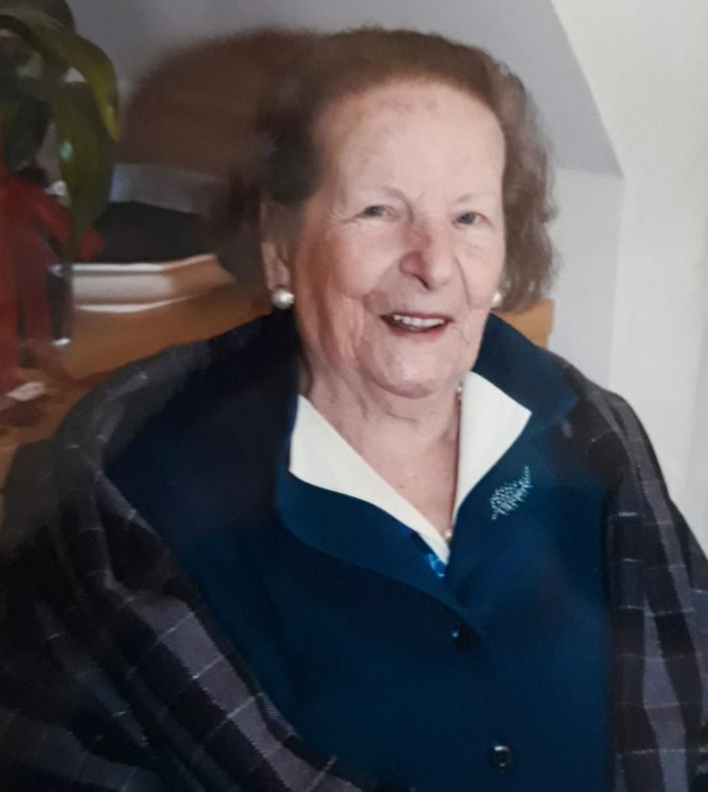 Modica, è morta a 99 anni Giovanna Belgiorno, sorella dei giornalisti Franco Libero e Arnaldo