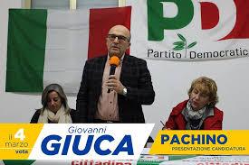 """Giuca e la Sinistra difende ex sindaco di Pachino: """"Bruno ha ripristinato la legalità"""""""
