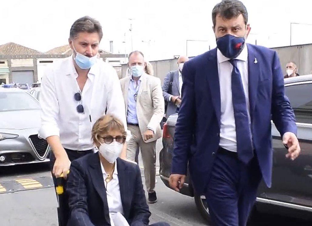 Caso Gregoretti a Catania, Salvini trascina  il premier Conte in Tribunale