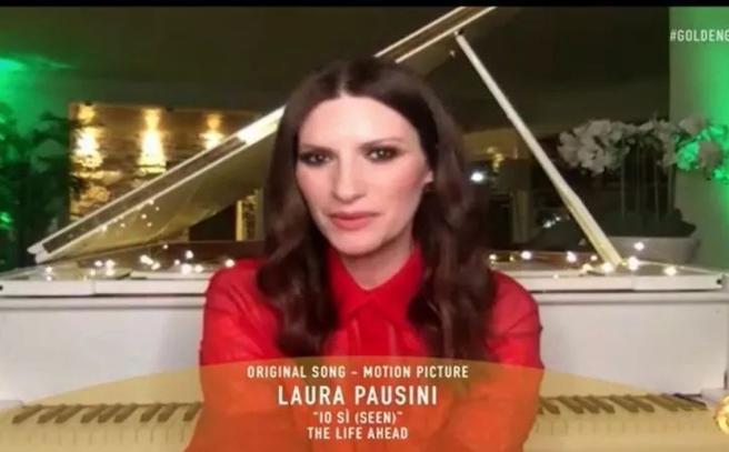 """Los Angeles, Laura Pausini vince il Golden Globe col brano """"Io Si"""""""