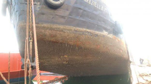 Nave Graziella affondata a Palermo, al via le azioni di recupero