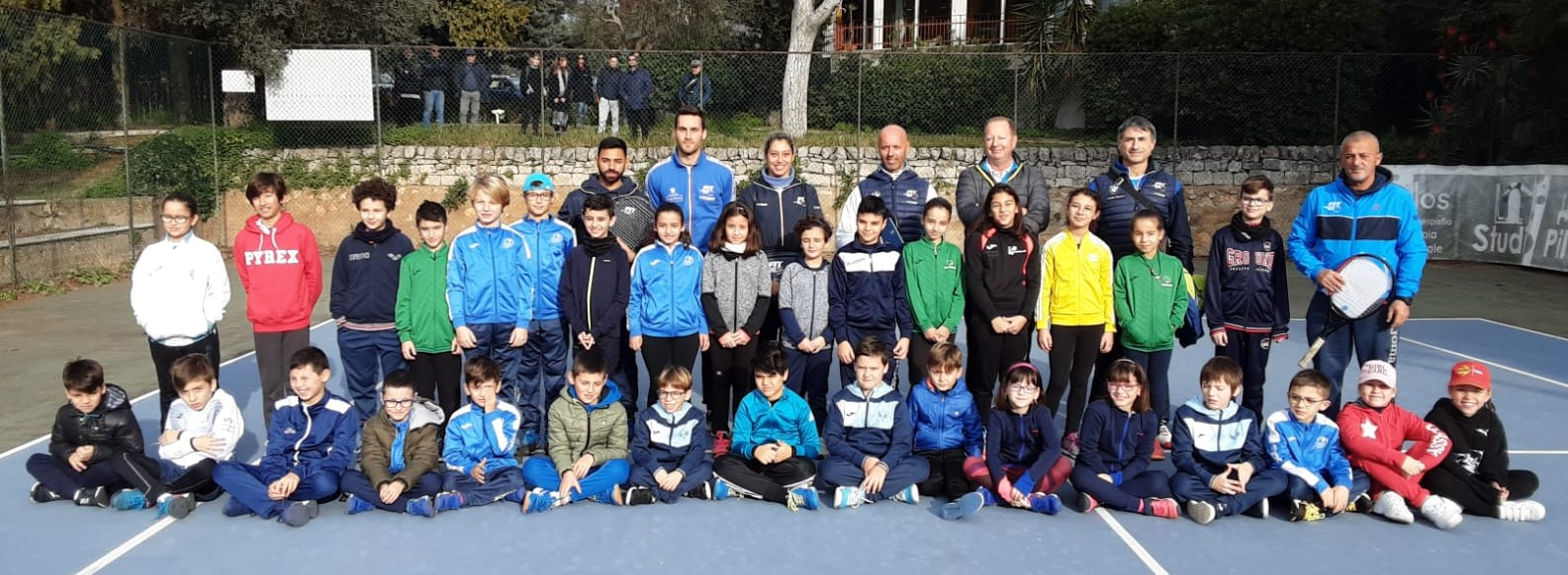 Modica, al Green Club stage di tennis: piccoli campioni crescono