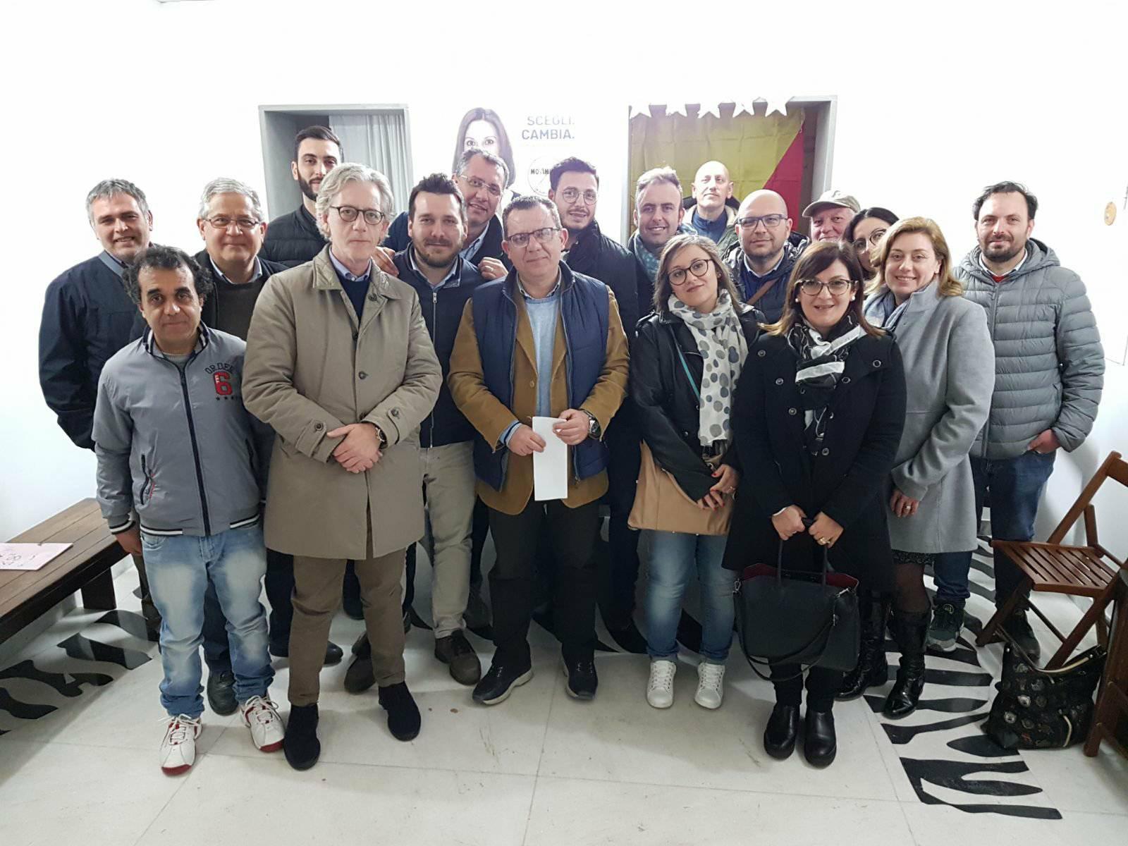 Pace fatta in casa M5s a Rosolini, Enzo Caschetto candidato sindaco