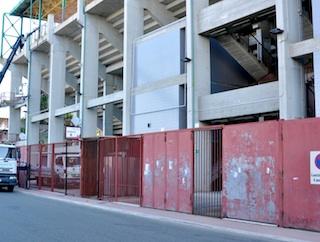 Ladri allo stadio di Reggio Calabria, derubati i giocatori del Catania