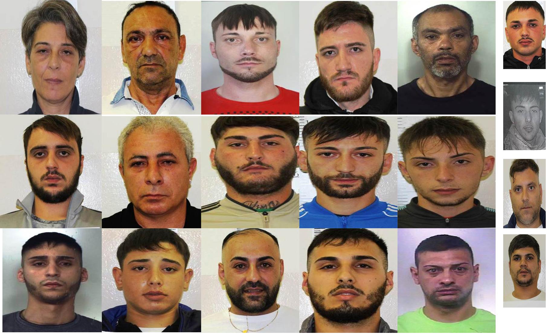 Catania, 20  del gruppo Arena presi a Librino per spaccio di droga
