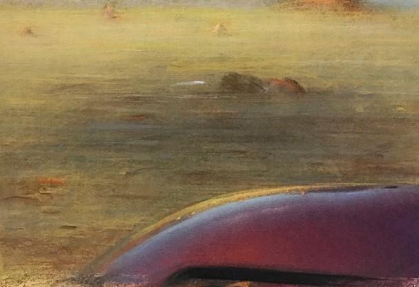 Modica, grafica e pastelli di Piero Guccione in mostra alla Galleria Lo Magno