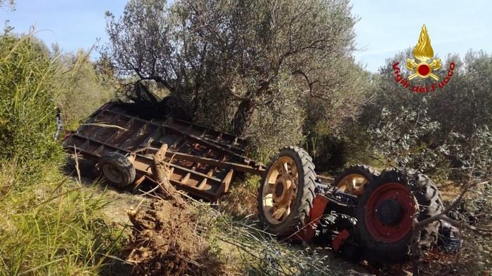 Si ribalta il trattore, 41enne muore in provincia di Campobasso