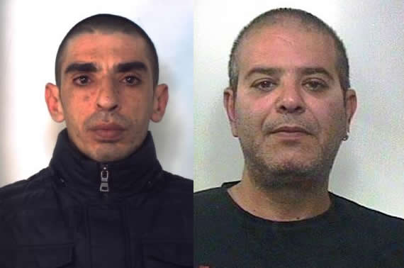 Catania, coppia di rapinatori seriali arrestati a Gallarate