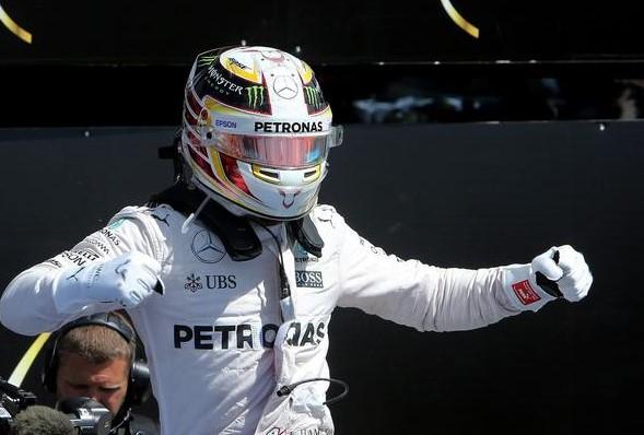 Lewis Hamilton per il terzo anno vince il Gran Premio di Gran Bretagna