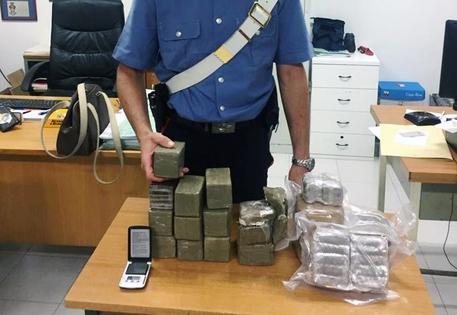 Nasconde 10 chili di droga nella cameretta del figlio, arrestata a Quarto
