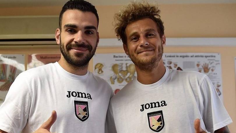 Il Palermo presenta Henrique: