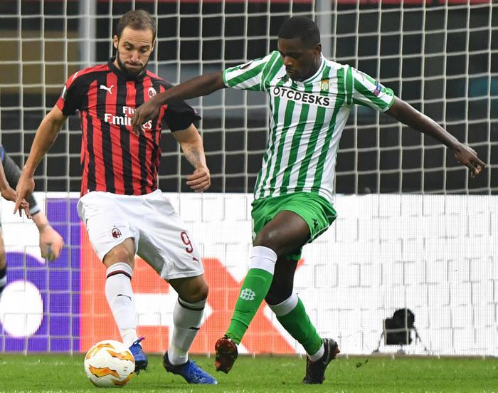 Europa League, il Milan scivola in casa col Betis: Gattuso non è a rischio