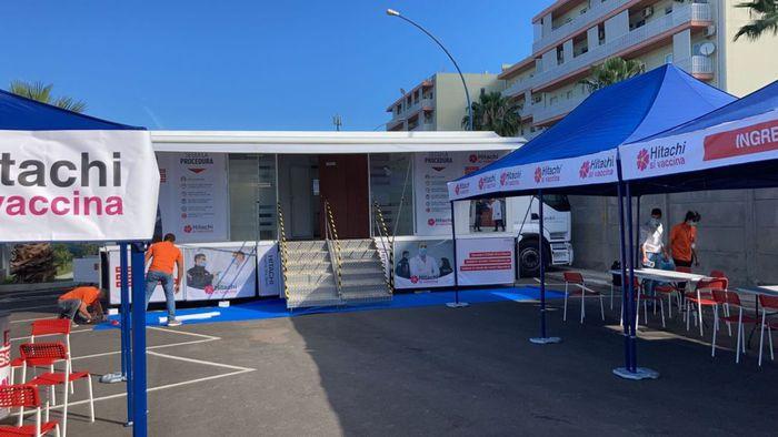 Vaccini a Reggio Calabria, avviata campagna all'Hitachi