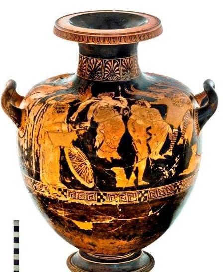 Modica, l'esposizione dell'Hydria al Museo Civico prolungata di un anno