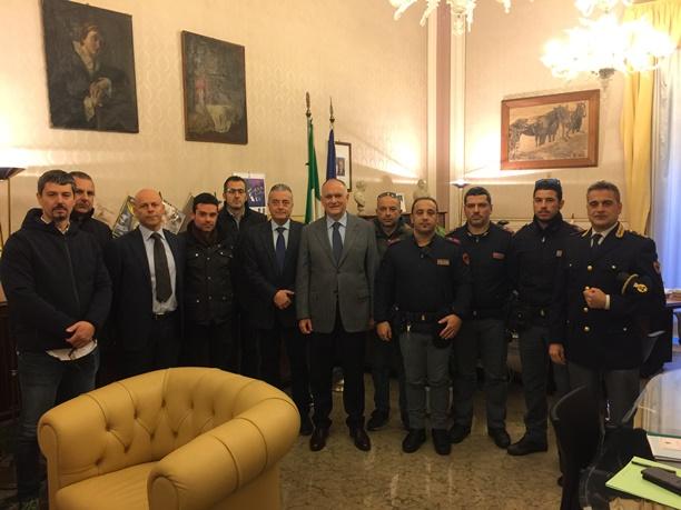 Poliziotti efficienti, il prefetto di Catania Sammartino si congratula