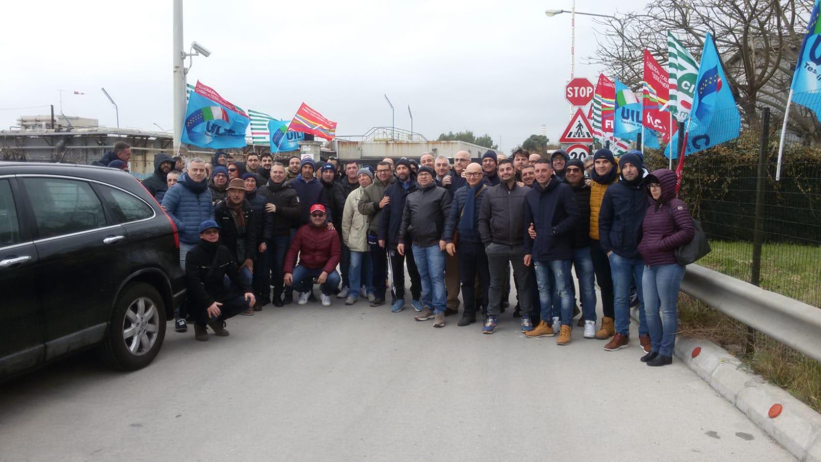 Siracusa, sciopero dei lavoratori Ias: chiedono un confronto col presidente della Regione
