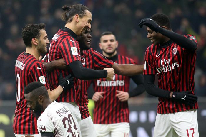 Il Milan batte il Torino ai supplementari ( 4 - 2 ): è in semifinale di Coppa Italia